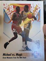 1991 SkyBox Michael Jordan #333 Basketball Card NBA Finals Lakers Bulls