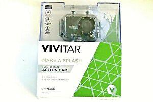 Brand New Vivitar Full HD Action Camera Waterproof 12MP 1080p Black DVR786HD