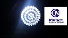 Mutazu White LED Super Bright Rear Turn Signal light 1156 Inserts fits Harley