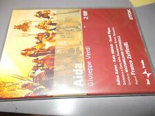 2 DVD AIDA VERDI ZEFFIRELLI STEFANELLI AARON ALDRICH PIPER RAI TRADE