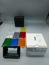 Minolta Panel Set With Adapter For Auto Electroflash 320X / 320