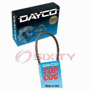Dayco AC Accessory Drive Belt for 1958-1960 Cadillac DeVille Serpentine ej