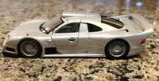 Maisto 1/26 Scale Mercedes Benz CLK GTR AMG Street Version Silver Diecast Car