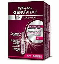 GEROVITAL H3 EVOLUTION Hyaluronic Acid with SOD | 10 x 2ml ampoules box