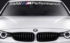 BMW Windshield BMW M Performance windows sticker decal graphic custom UK SELLER