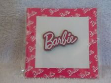 """2018 Barbie Doll Convention """" Barbie """" Logo Adult Pin"""