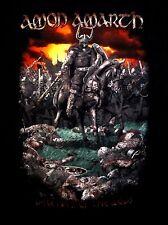 AMON AMARTH cd lgo DECEIVER OF THE GODS WARRIOR TOUR Official SHIRT MED oop