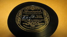 JOHNNY GREEN BRUNSWICK 78 RPM RECORD 7487 ISN'T THIS A LOVELY DAY?
