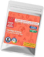Food Supplies: Lightweight Dehydrated Pouched Meal - Chicken Korma with Rice