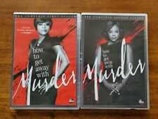 How to Get Away With Murder: Season 1 and Season 2 DVD - Very Good