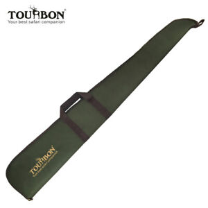 Tourbon Shotgun Gewehr-Gewehr-Fall-Aufbewahrungstasche mit justierbarem Schulter