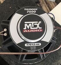 """Mtx Thunder 7512 Dual 4ohms Sledgehammer 12"""" Subwoofer"""