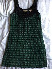 Angel Eye Green Mini Dress M/L NWOT