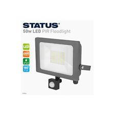 STATUS Tivoli 50w LED Wall Mount Floodlight Outdoor Security Welcome Lighting