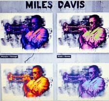 Mr. Brainwash Full Set Of 4  Miles Davis  Prints, Limited To 50 Prints, Sold Out