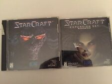StarCraft Pc Game With Blood War Expansion Set. FREE Shipping