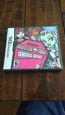 MONSTER HIGH Ghoul Spirit Nintendo DS DSi Video Game Complete RATED E Everyone