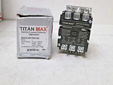 Titan Max DP Contactor 3 Pole 40 Amp 24V 61445 TMX340A2 NEW FREE SHIPPING