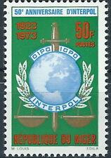 Niger - 50 Jahre Interpol postfrisch 1973 Mi. 369
