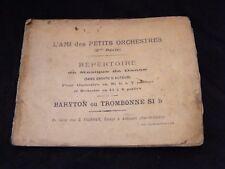 Partition l ami des petits orchestres Baryton ou trombone si b