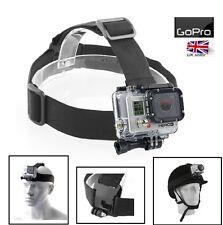 Head Strap Mount for GoPro HD Hero 3+ 3 2 1 Camera Helmet Holder Belt Tie Wrap
