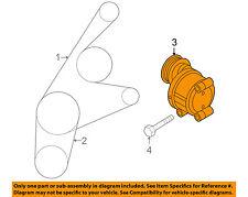 MAZDA OEM 04-13 3-Serpentine Drive Fan Belt Tensioner LF5015980C