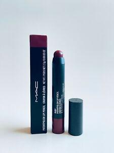 MAC Patentpolish Lip Pencil RUBY Full Size 0.08 oz New In Box