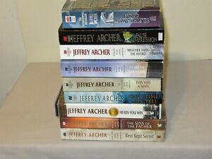 Lot 9 Jeffrey Archer PB Books The Clifton Chronicles & 2018 Heads You Win