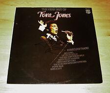 "Tom Jones SIGNED 12' Vinyl ""The Best of"" Genuine Authentic AUTOGRAPH + COA"