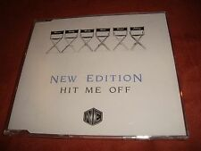 NEW EDITION - Hit me off (Maxi-CD)