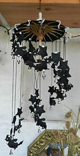 Witches / Witch on Broomstick Mobile / WIndchimes