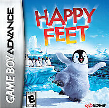 NEW SEALED GAMEBOY ADVANCE  HAPPY FEET AWESOME LOTS FUN KIDS ADULTS