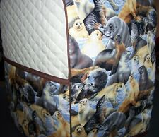 Wet & Wonderful Playful Seals Wildlife Quilted Cover for KitchenAid Mixer NEW