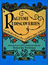 RAGTIME REDISCOVERIES - 64 WORKS FROM GOLDEN AGE OF RAG - 296 PAGE SONGBOOK