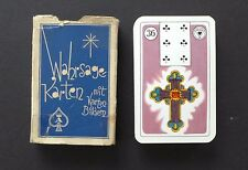 VTG 1950s Lenormand Fortune Telling Oracle Cards Stralsunder Card Inserts