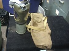Vintage WWII U.S. Military Nomcombatant Gas Mask MIA2-I-I Child w/ Case
