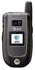 UNLOCKED Motorola Tundra VA76r - Black Gray (AT&T) Cellular Phone