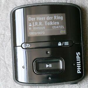 Mp3 Player Philips GoGear Raga 4GB - mit Audible Hörbüchern wie Racheklingen...