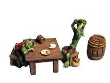 Aurora Model Fantasy Game Miniatures 'Drunk Goblins' Metal kit GB01