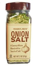 Trader Joe's Onion Salt, A Savory Allium Blend with a Touch of Salt, 2 oz (57g)