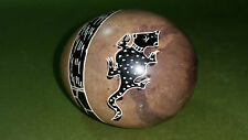 Carved Etched Agate Stone Collectable Egg Decoration Africa Salamanda Ink Design