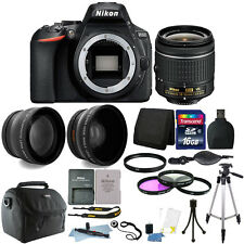 Nikon D5600 24.2 MP Digital SLR Camera with 18-55mm Lens + 16GB Accessory Kit