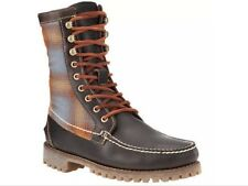 New👞 Timberland 👞 UK 7.5 Authentics 8inch Rugged Handsewn Brown Boots 41.5EU