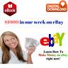 Make Money on Ebay - Earn $1000 in a week - e. book - Online Business + MRR