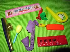 1980s novelty toy mcdonald land band instruments bonnie bell ruler kazoo whistle