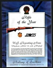 1995 WINCHESTER Model 70 with BOSS Rifle of the Year PRINT AD