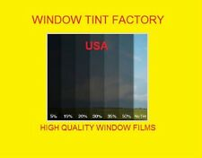 "Window film Tint 2 ply  high quality 15% Medium Black   Intersolar® 60"" x 50 FT"