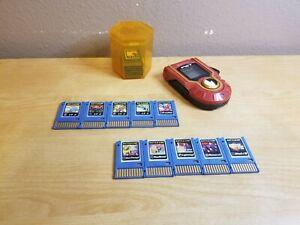 Megaman Advanced PET w/ 16 Battle Chips & Storage Case - HTF Capcom 2004 Mattel.