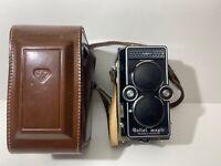 Rolleiflex Rollei Magic 3.5 TLR 120 Film Camera w/ Xenar 1:3.5/75 Lens