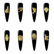 Nail Charms 3D Metal Art Decoration Accessories Supplies Tool Rhinestones 100pcs